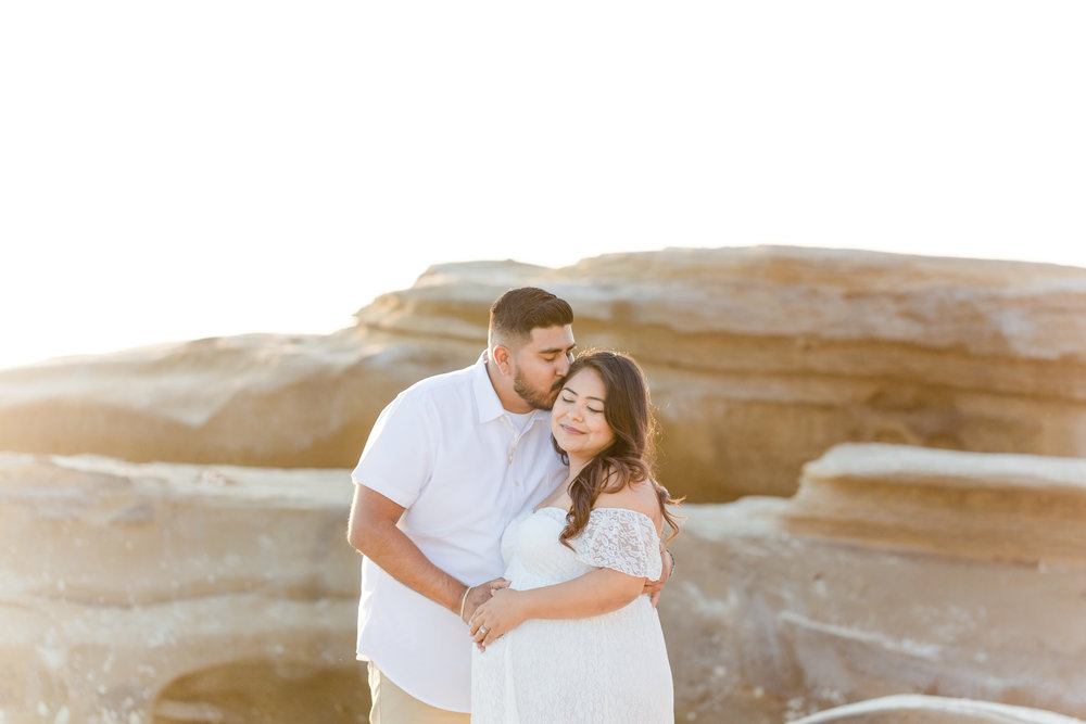 Karina Family Maternity | Windansea Beach Maternity Photos