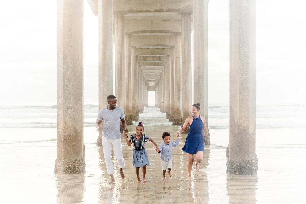 Scripps Pier Family Photos