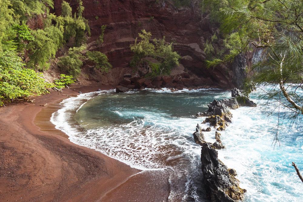 Red Beach - Maui, HI