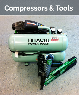 We have a broad range of small and large compressors. Our selection of assorted air tools to complete several indoor and outdoor jobs is significant. The tools vary in capacity, portability, and operation.