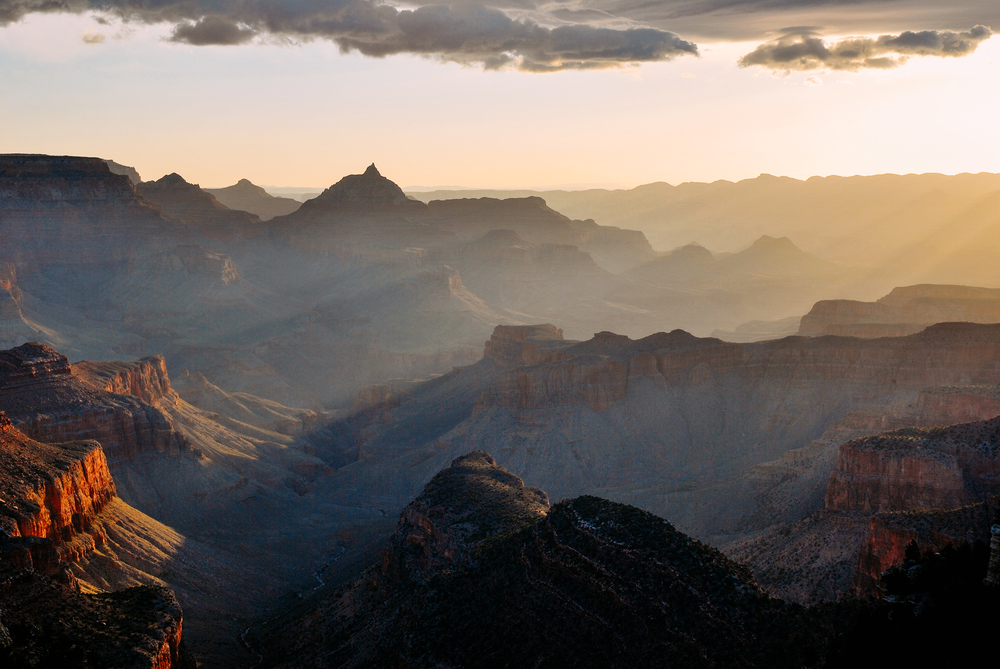 Grand Canyon National Park Morning Light Jeff Rose Photography