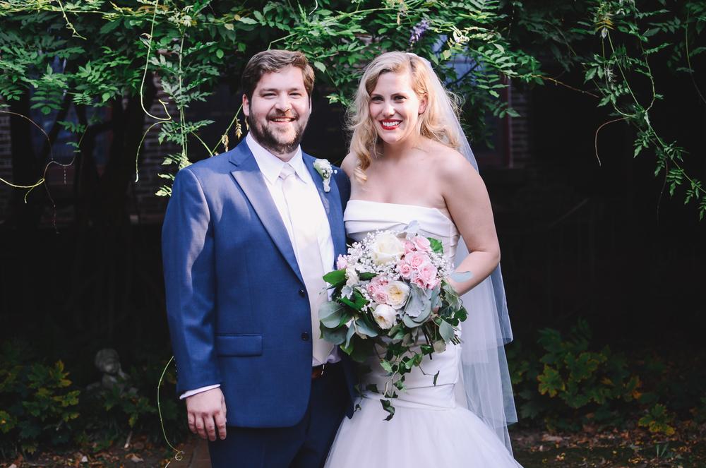 ELIZABETH + JACOB // FAYETTEVILLE WEDDING