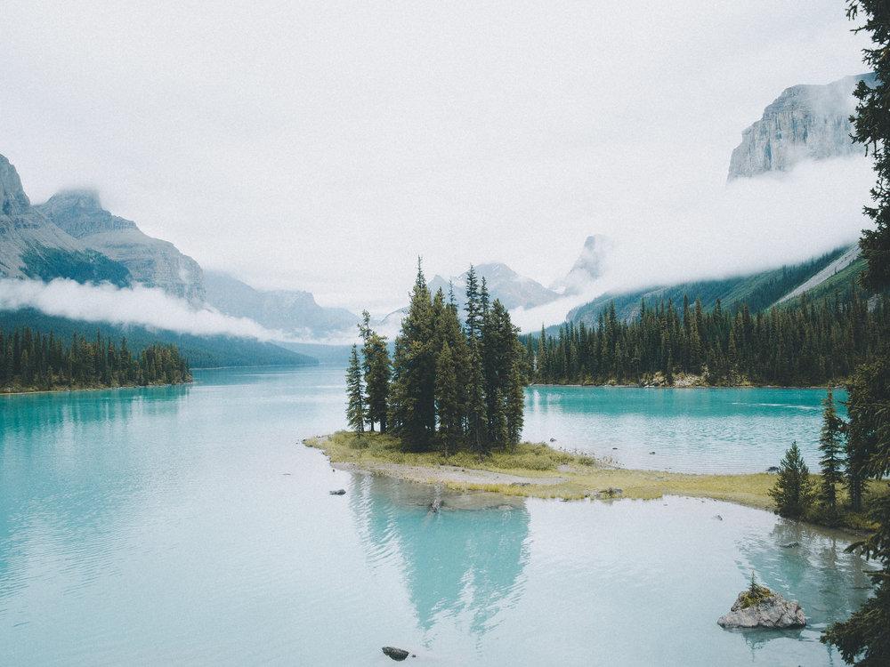 Spirit Island, Japer National Park, Alberta