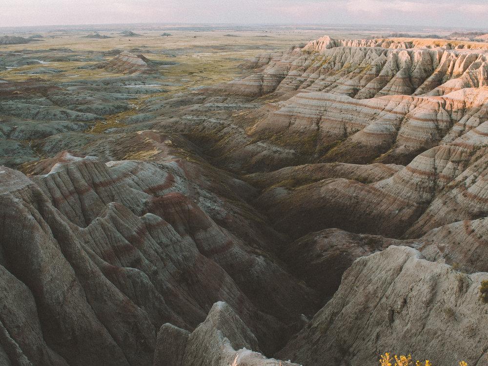 Panorama Point, Badlands National Park, South Dakota
