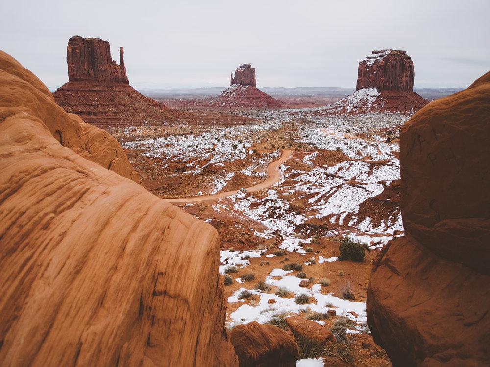 Monument Valley, Navajo Tribal Park, Utah