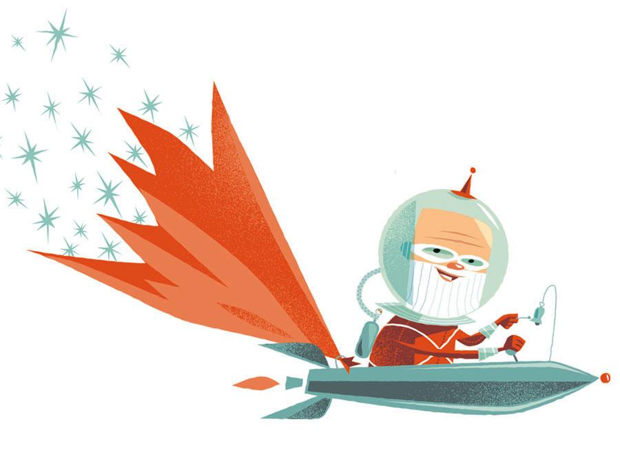 Dean Gorissen - space santa