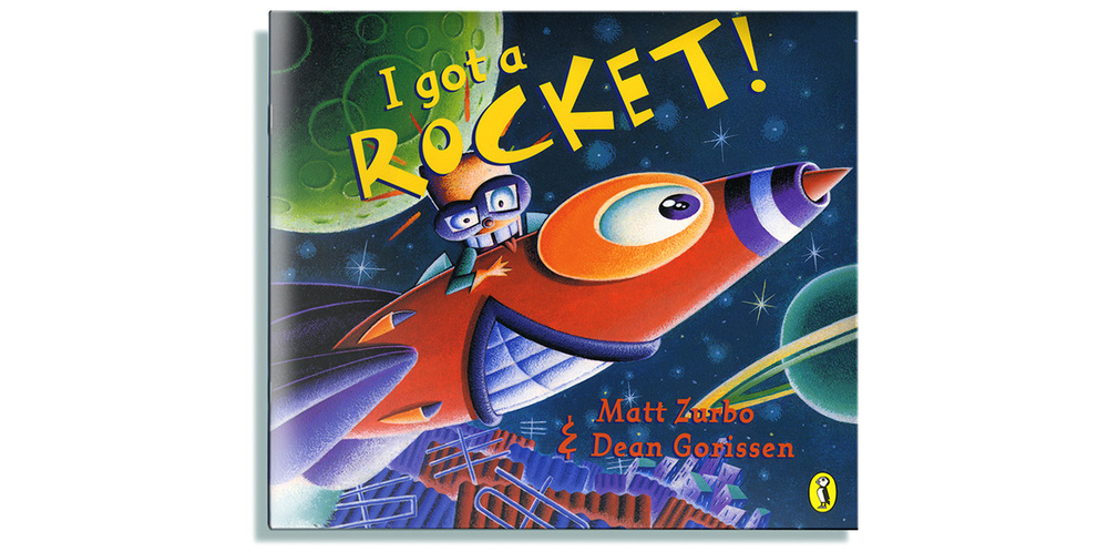 Dean Gorissen Illustration I got a Rocket! cover