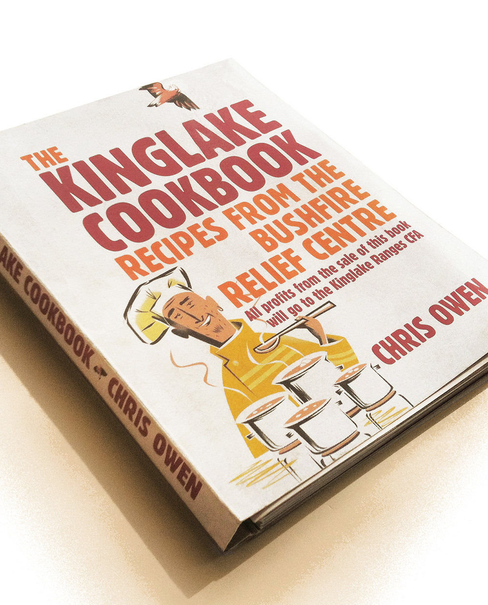 Dean Gorissen-The Kinglake Cookbook cover
