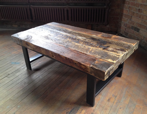 Contemporary Industrial Coffee Table Plans Free