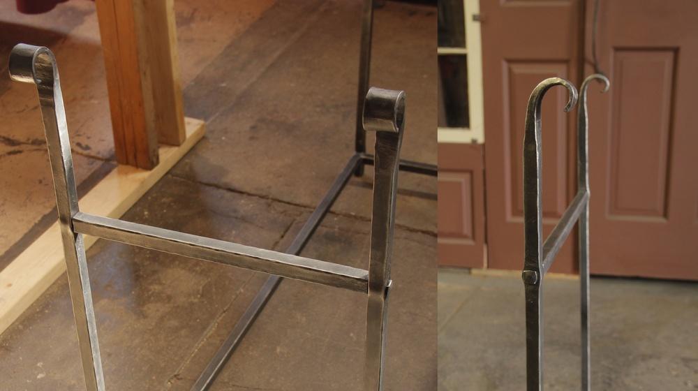 Firewood rack (closeup)