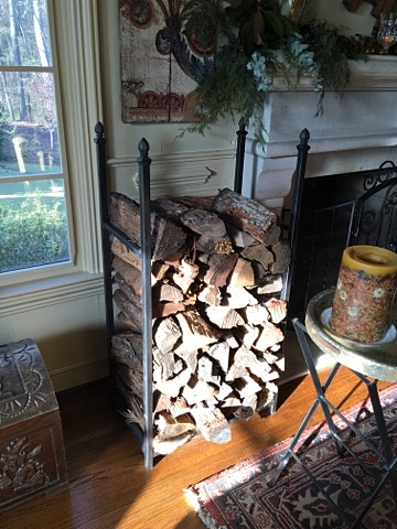 Firewood rack (fabricated)