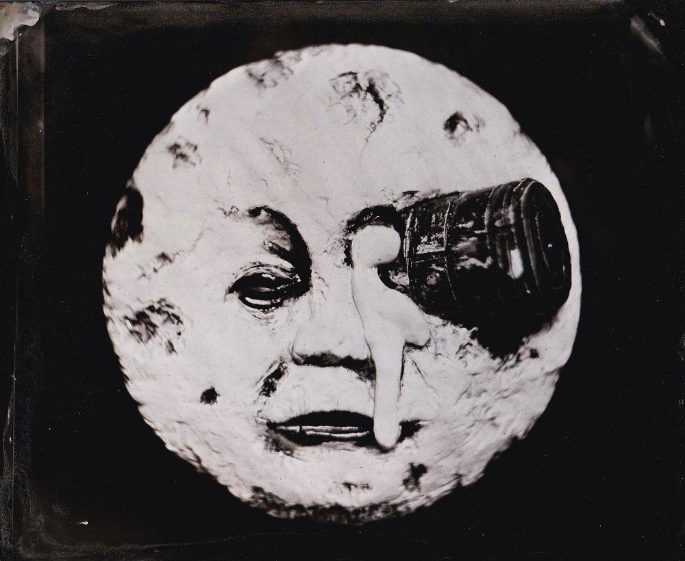 (1 panel of 3)  Mooning