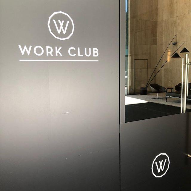 F I R S T venture to @workclub Sydney.