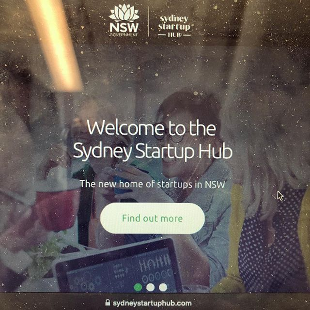 G O O D  Morning Sydney... always great to be back @sydnetstartuphub