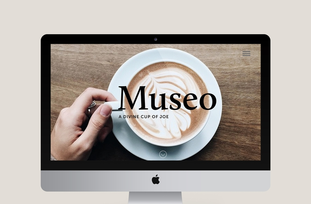 Museo Coffee_Homepage