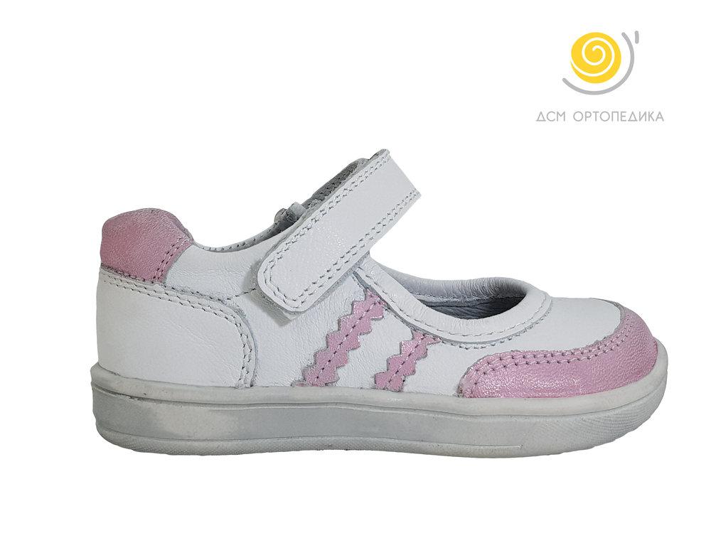 Каталошки број: 903 Големина: 19-26 Боја: Розе кожа со бела кожа