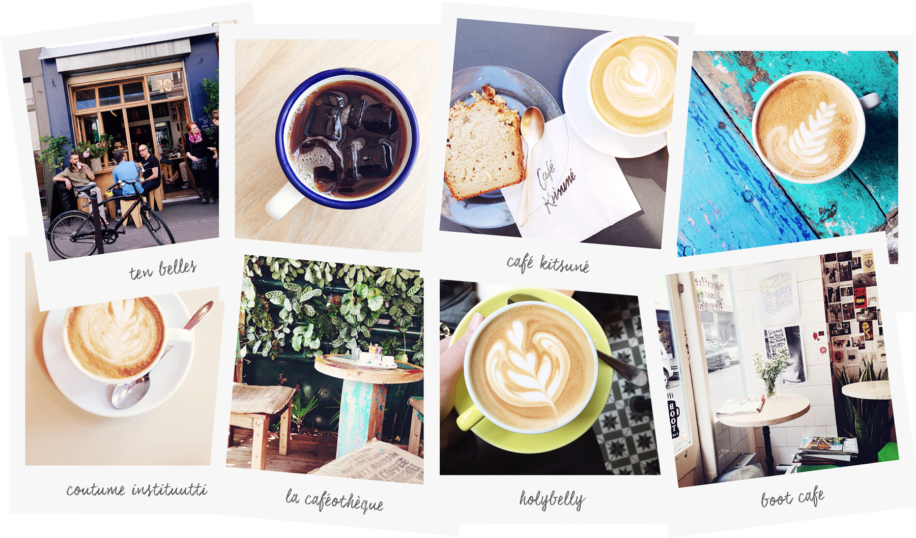 Coffee in Paris photo by Carin Olsson (Paris in Four Months)