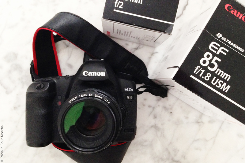 My Canon EOS 5D Mark II by Carin Olsson (Paris in Four Months)