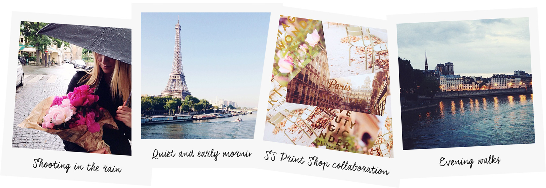 Paris polaroids photo by Carin Olsson (Paris in Four Months)