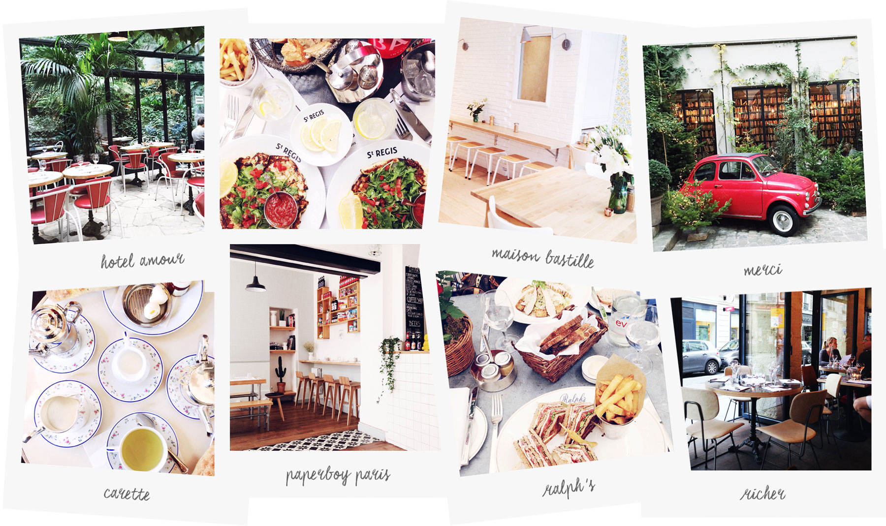 Food in Paris by Carin Olsson (Paris in Four Months)