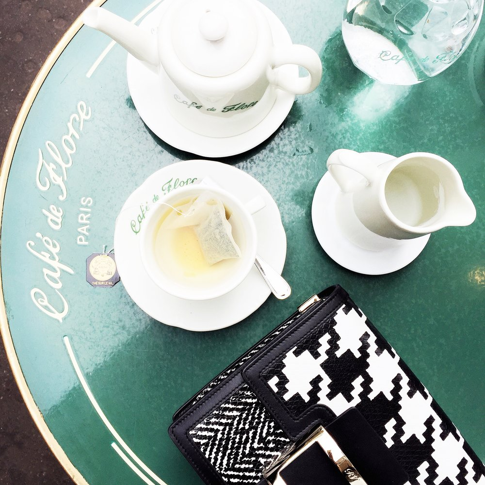 Café du Flore            172 Boulevard Saint-Germain,            75006 Paris