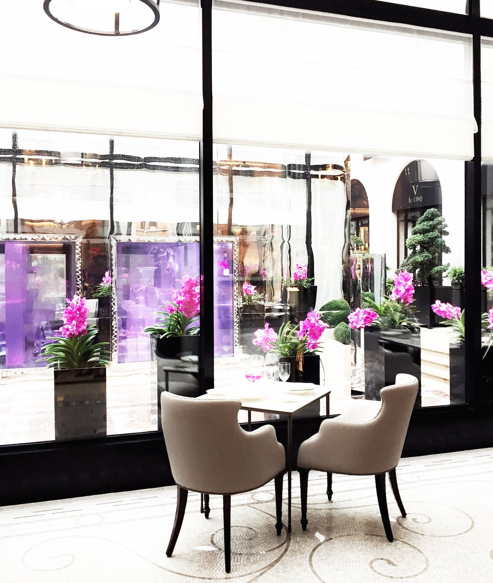 L'Orangerie at Four Seasons George V                        31 Avenue George V | 75008 Paris