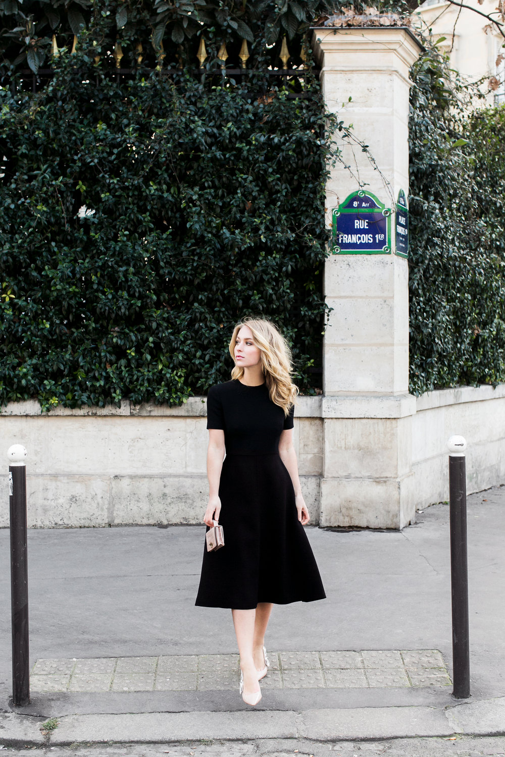 Dress, shoes & bag:  Dior