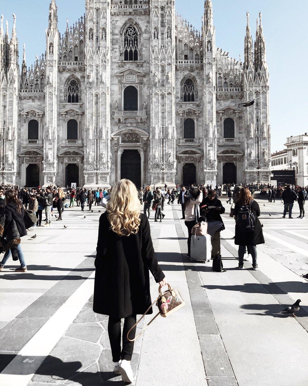 Duomo di Milano            Piazza del Duomo