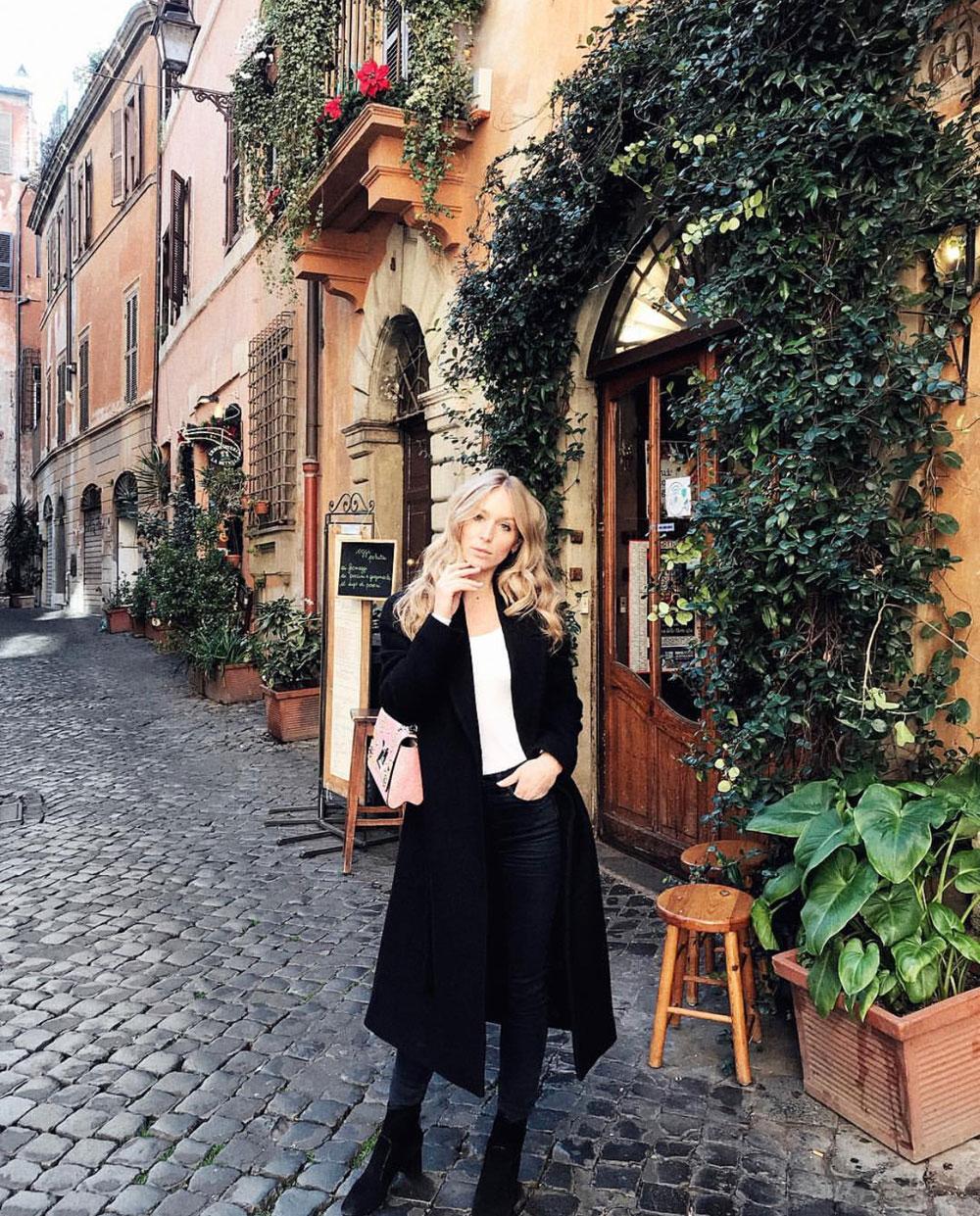 Jacket, top & Jeans:  COS  Bag & Shoes:  Louis Vuitton