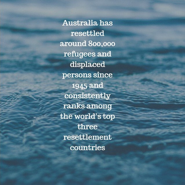 Some positive facts to start your 2019. Although this is progressive for Australia's refuge stance. Our country is facing current prejudices towards migration which resulted in a fall to 162,000 permanent arrivals over the past year as opposed to the annual cap of 190,000 places. - - - - - #iamaboatperson #knowthefacts #refugee #refugeecrisis #progressive #refugeewelcome
