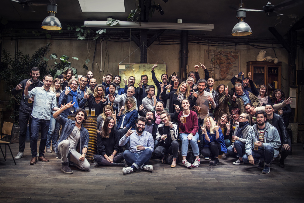 Creative crew of TBWA Paris