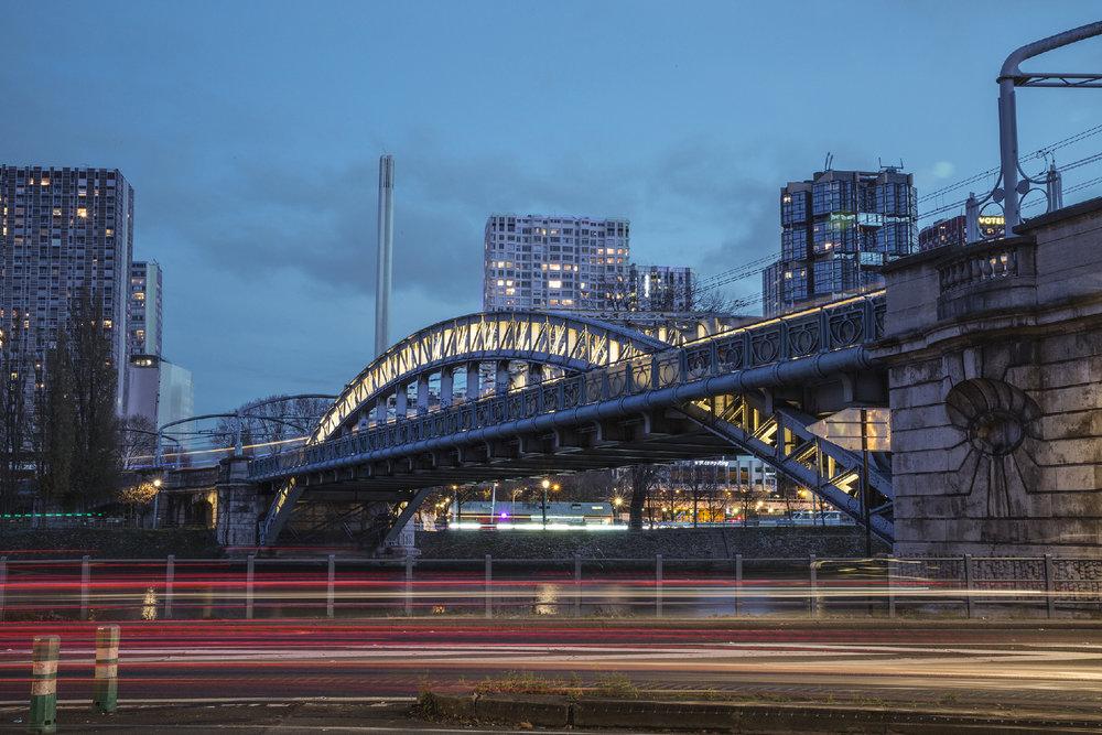 Rouelle Bridge, Paris, 2016