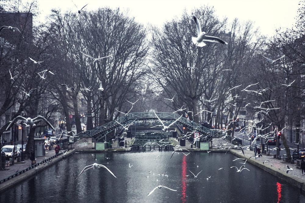 Canal Saint Martin, Paris, 2016