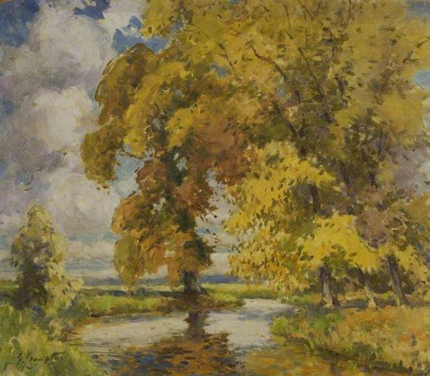 Autumn in the Cotswolds, Gertrude Crompton