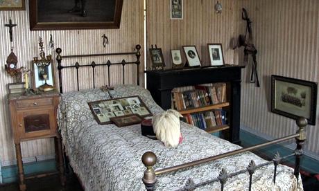 Unchanged soldier's room