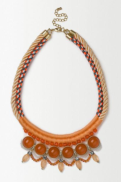 Anthropologie Nectar Bib Necklace
