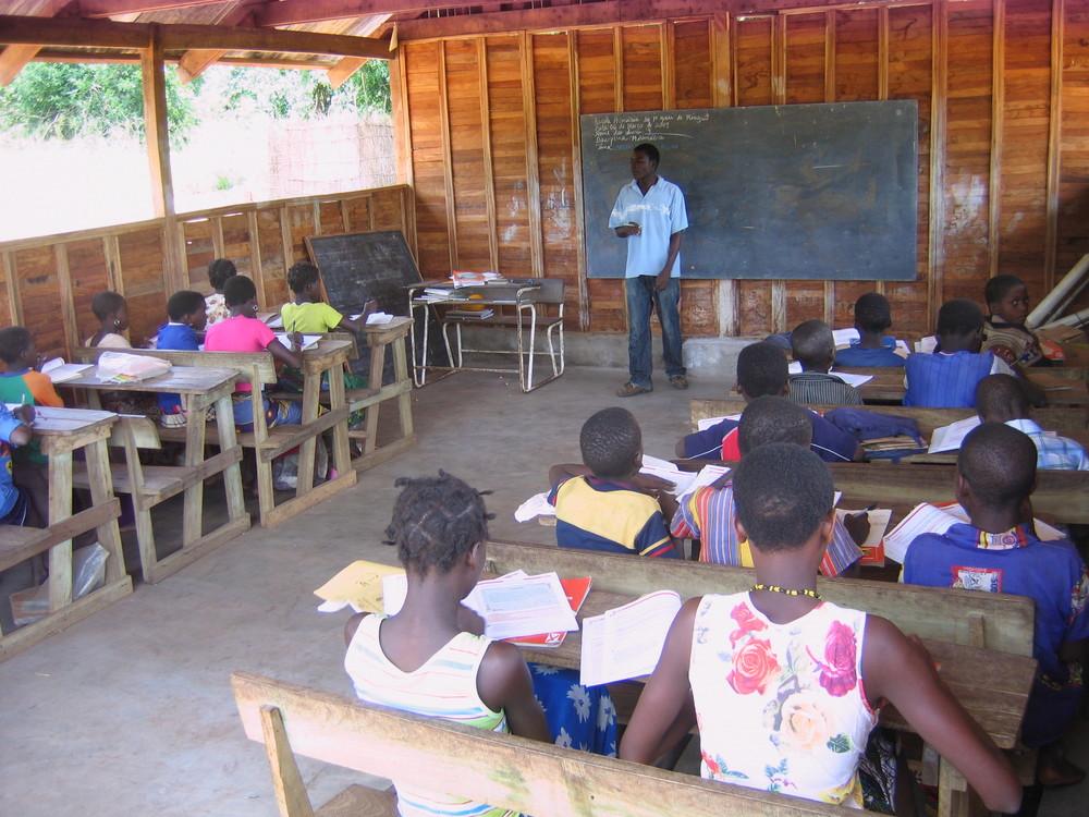 Classrooms built