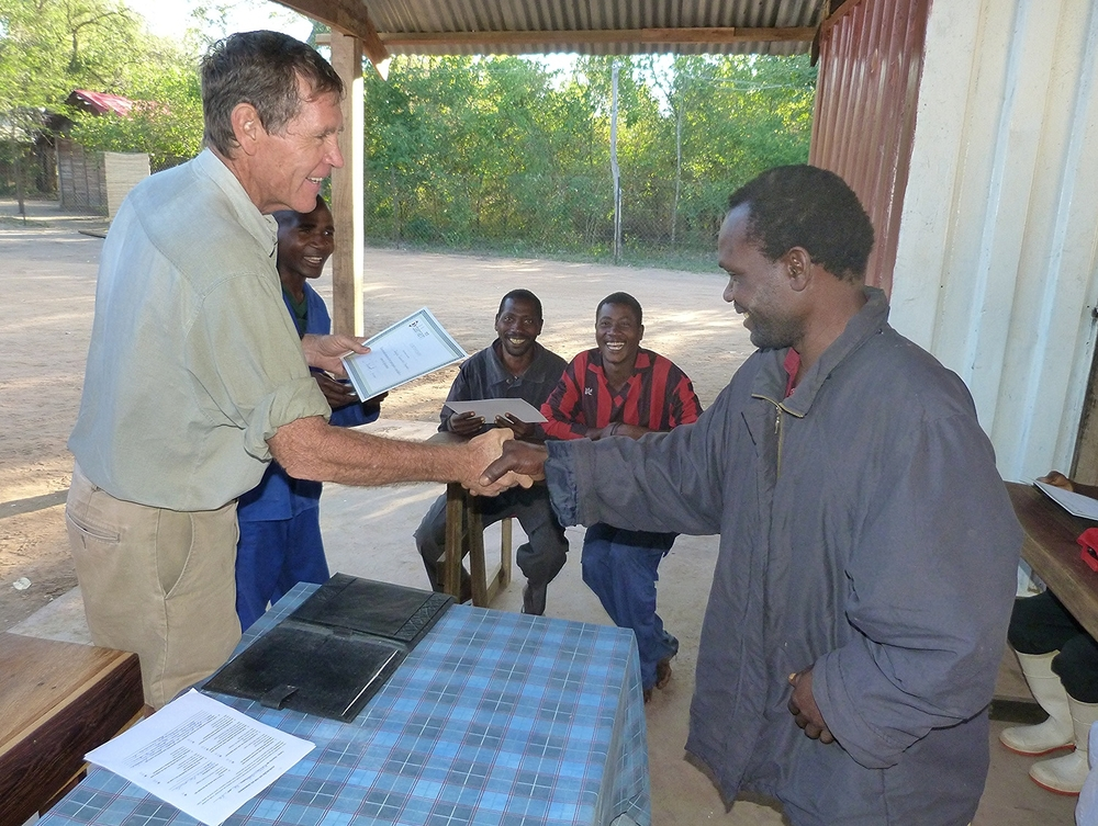 Apiculture training - getting your certificate