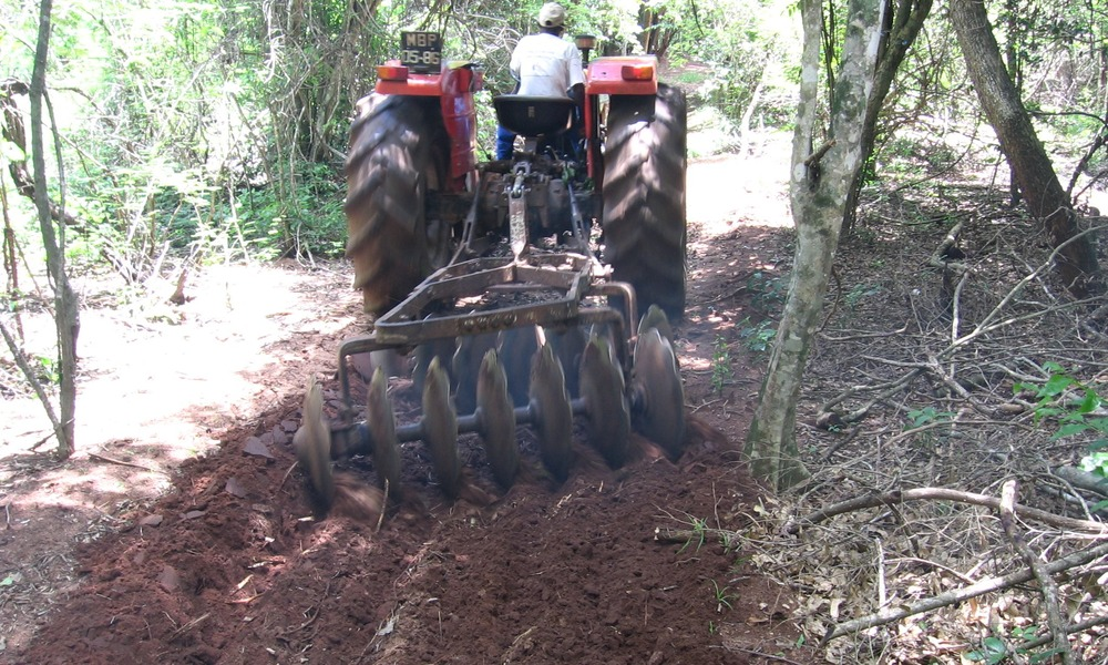 Or using a harrow