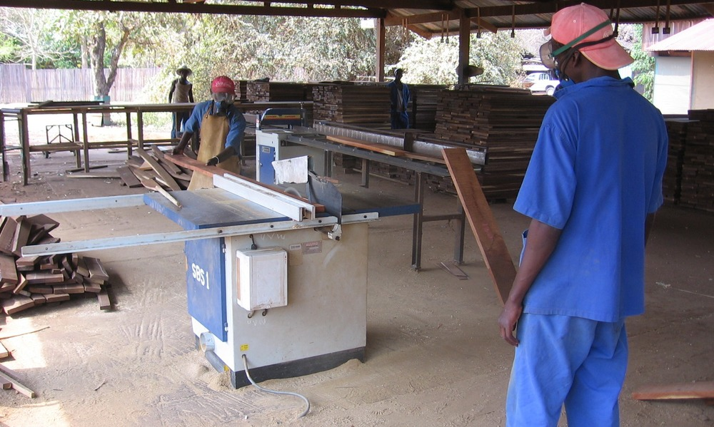 Post kiln processing sections