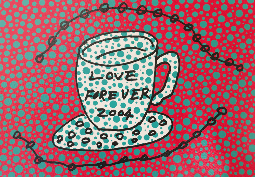 Yayoi Kusama, Morning Is Here(C)