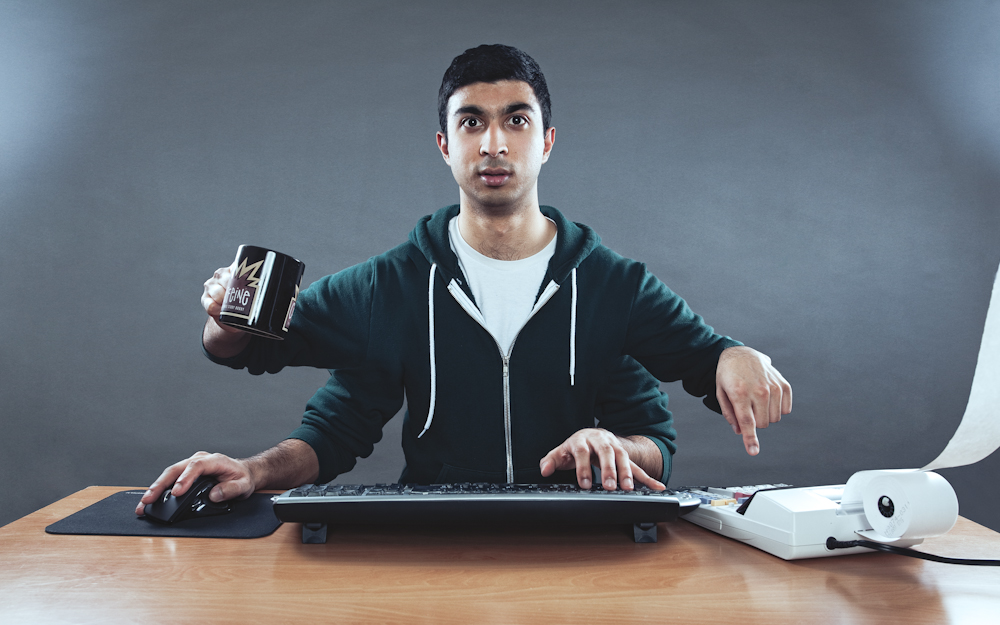 Caffeination, Calculating, Computerating by Rich Ritchie, via Flickr.