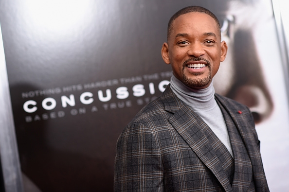 Will Smith at an event for Concussion