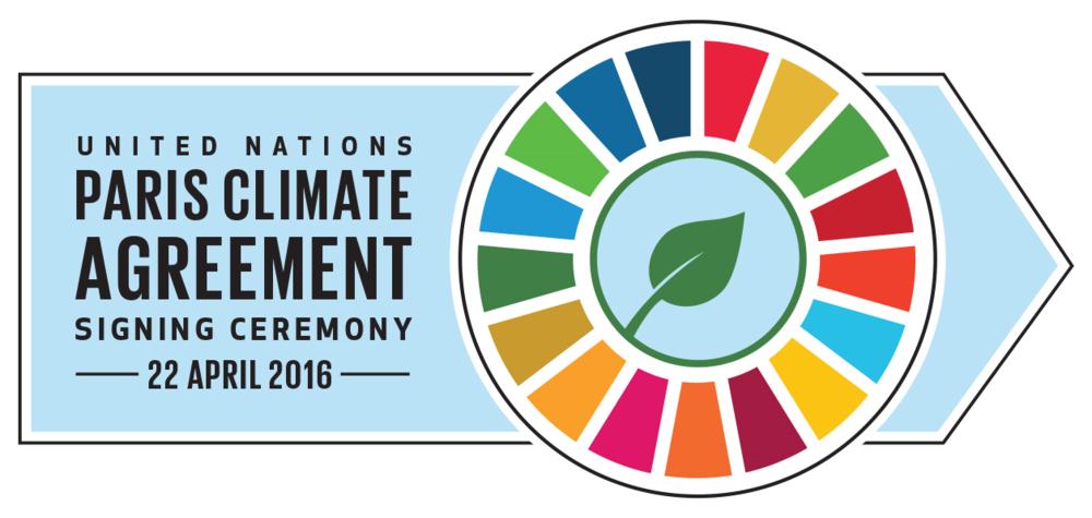 Paris Agreement Signing Ceremony Logo