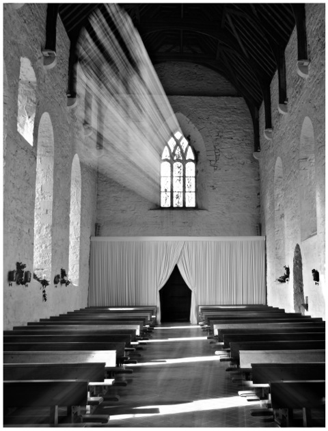 The Light in Balintubber Abbey, Ireland