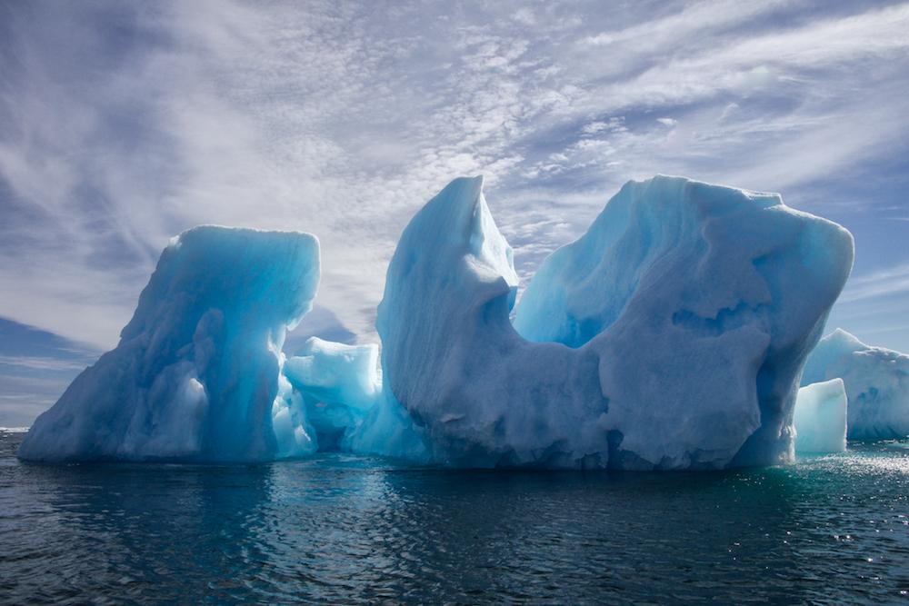 Icebergs in Greenland, Ron Rosenstock 2015