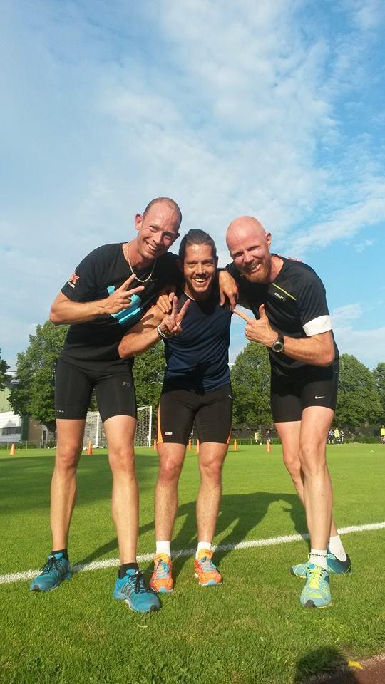 Johan, Anders och Johnny. Foto Emma Persbo.
