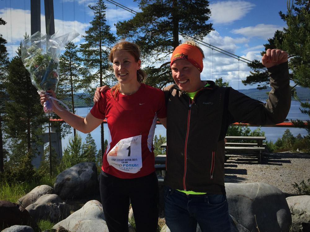 Vann loppet gjorde Patrik Wikström på nya banrekordet13:51:45 och Johanna Bergman på15:00:35, också det ett nytt banrekord. GRATTIS!