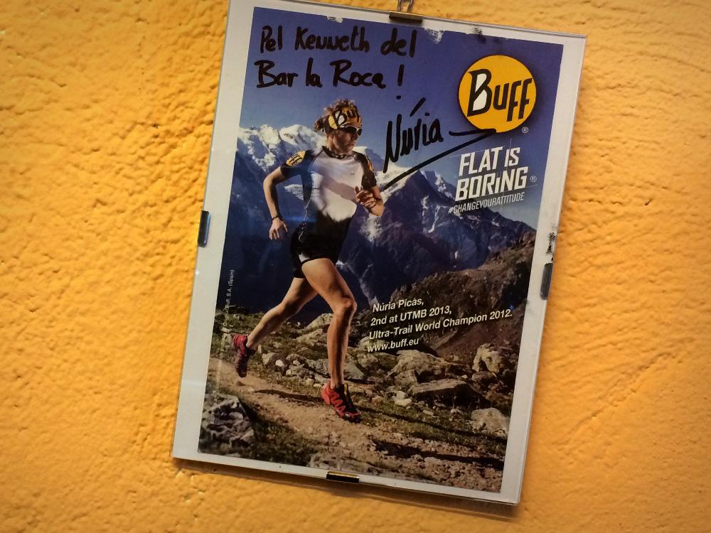 Vi lunchade på legendariska klätterhaket Bar La Roca, som av en händelse också är ett av Núria Picas favoritställen.