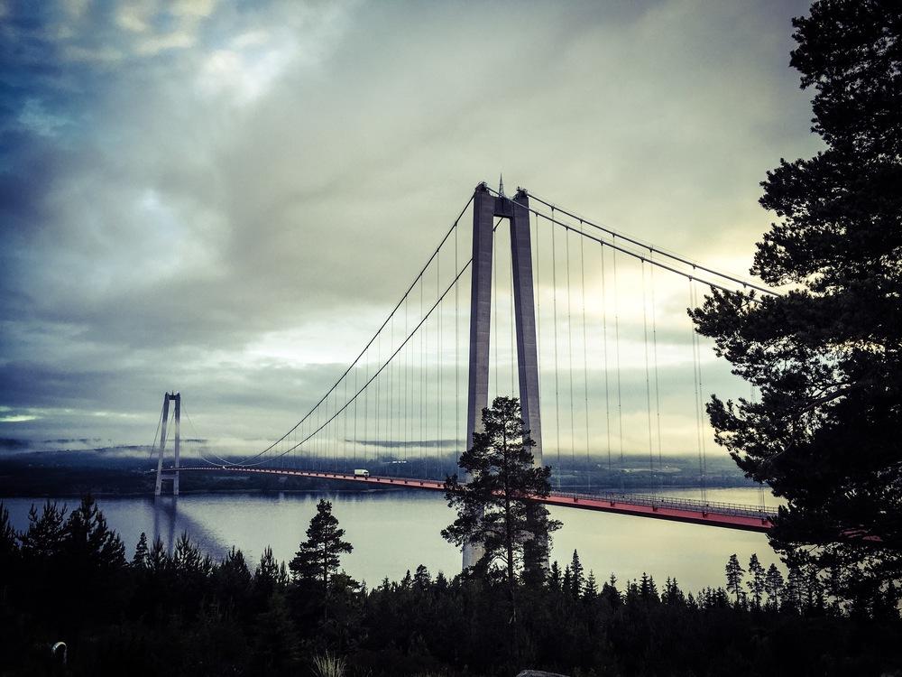Höga Kusten Bron — så vacker!